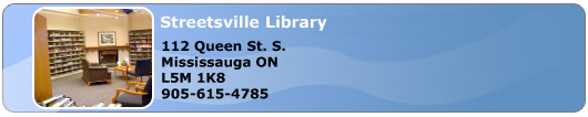 Streetsville Branch Library